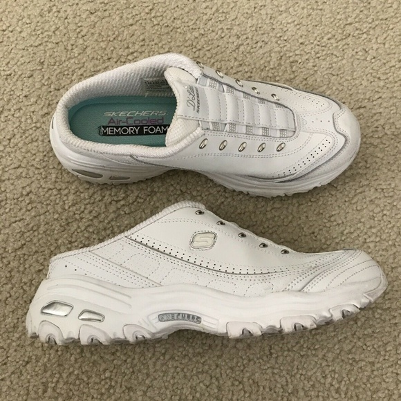 skechers air cooled white